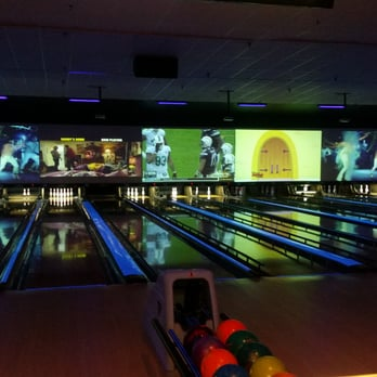 Photo Of AMF Garden City Lanes   Garden City, NY, United States. Night