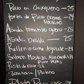 Cafe Poca Cosa Prices