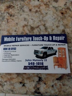 Mobile Furniture Touch-Up & Repair 1020 Oneida Dr El Paso, TX