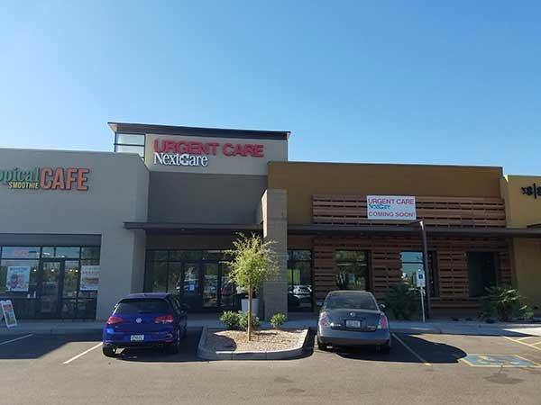 NextCare Urgent Care: 1155 W Ocotillo Rd, Chandler, AZ