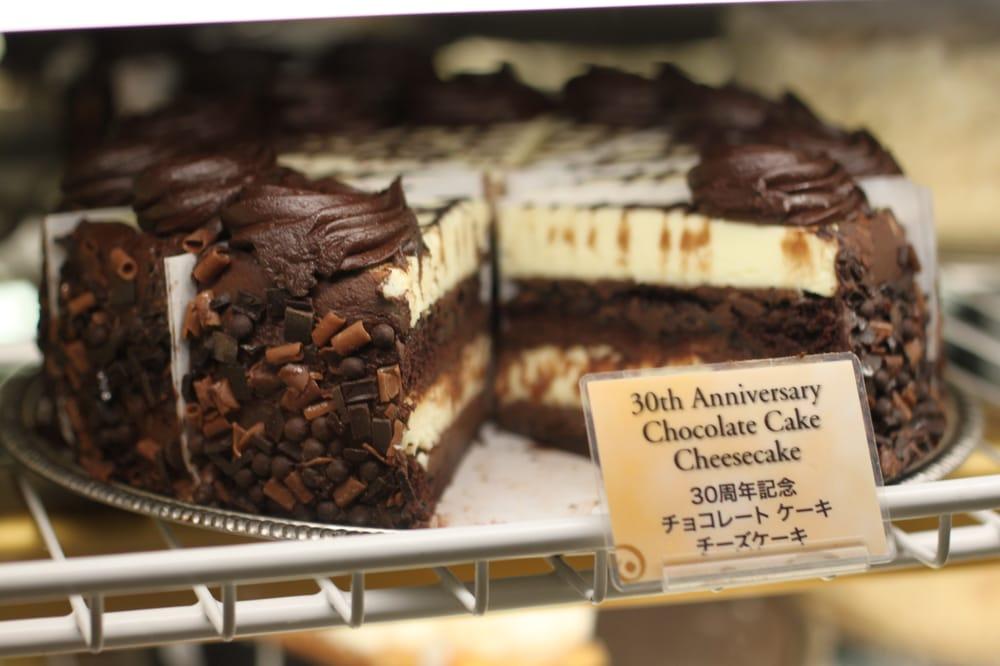 30th Anniversary Chocolate Cake Cheesecake Yelp
