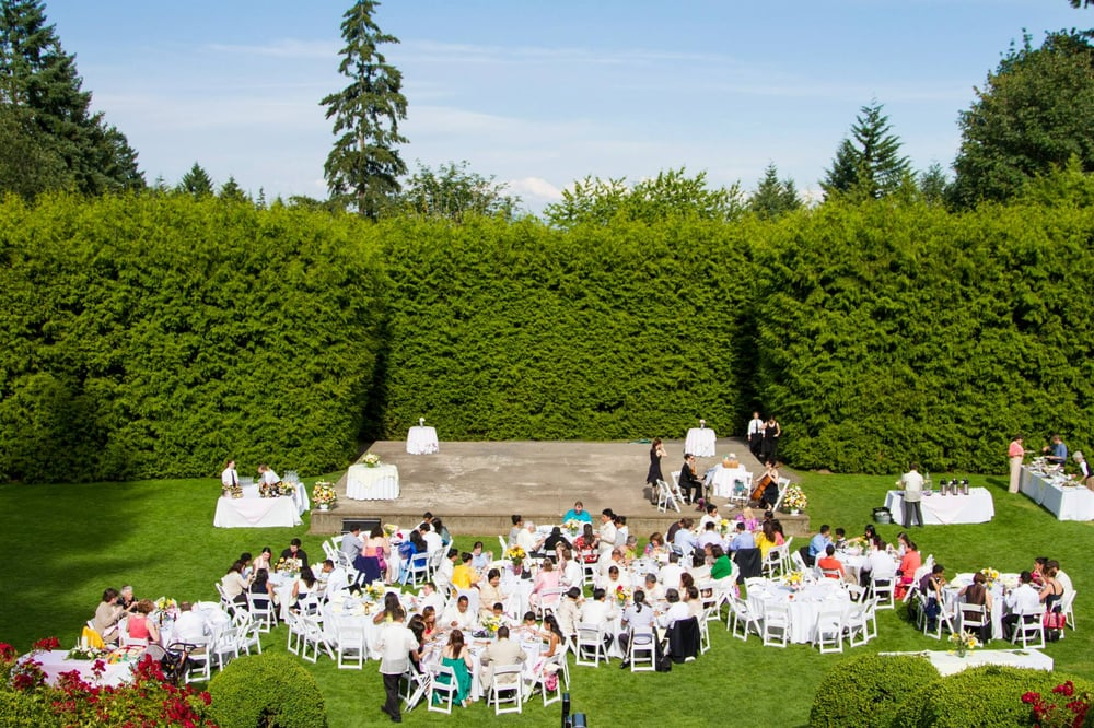 Photo Of Voila Catering Portland Or United States Wedding Reception Event At