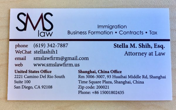 SMS Law 2221 Camino del Rio S Ste 100 San Diego, CA Lawyers - MapQuest