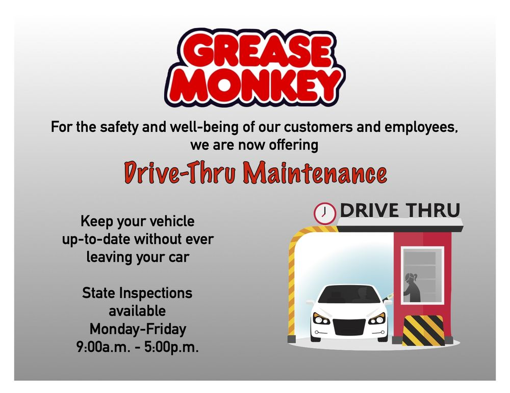 Grease Monkey - Dripping Springs: 1160 E Hwy 290, Dripping Springs, TX