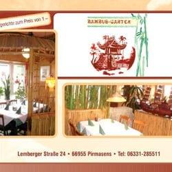 Bambusgarten - Chinesisch - Lemberger Str. 24, Pirmasens, Rheinland ...