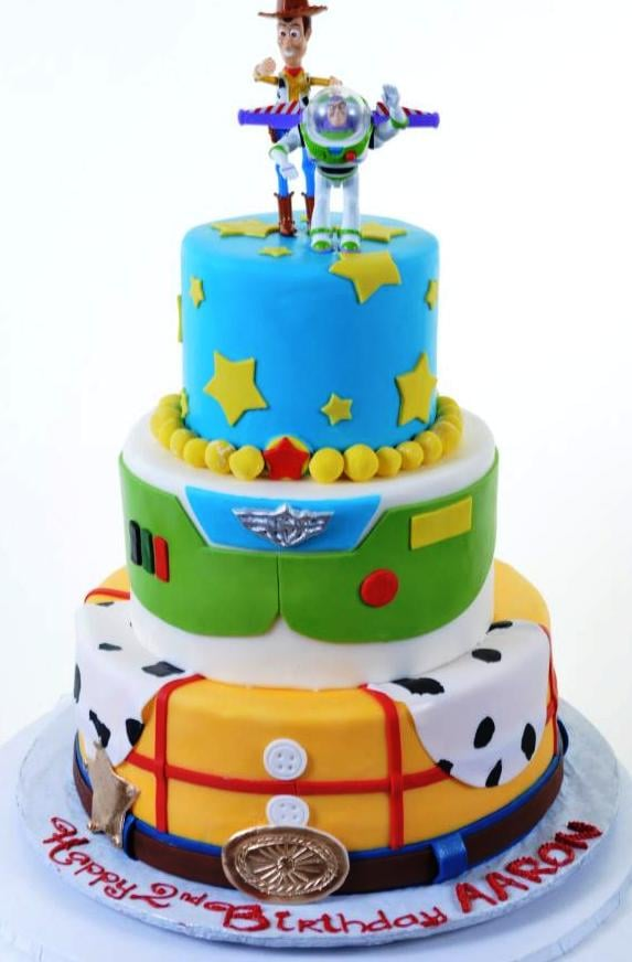 Toy Story Birthday Cake Woody And Buzz Lightyear Yelp
