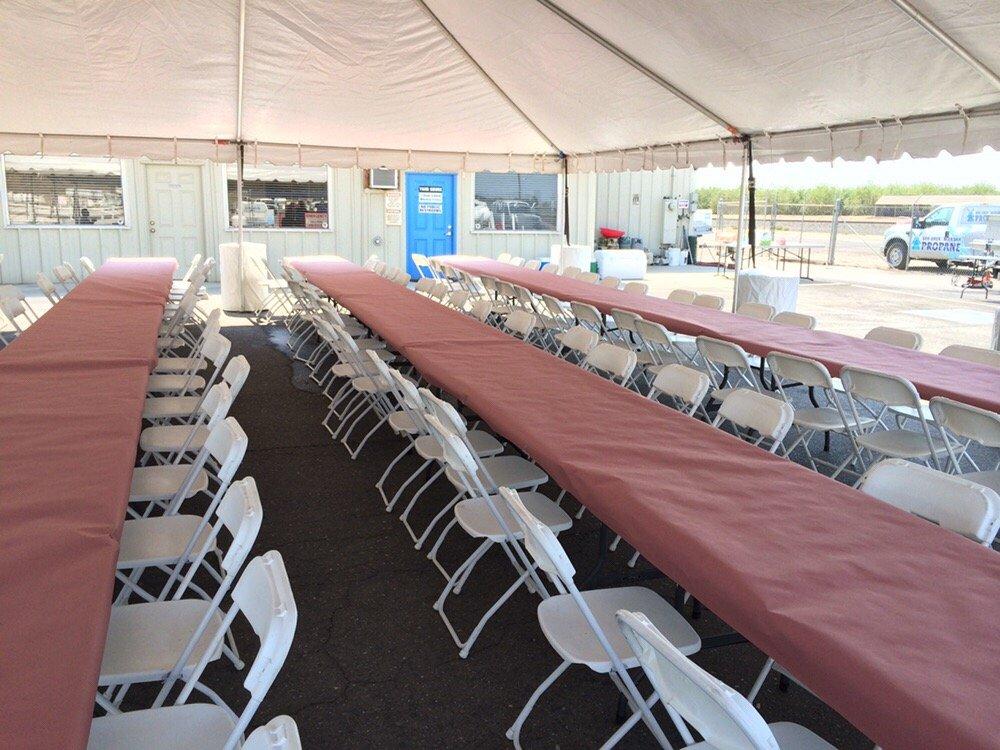 Big B Tent Rental: 24231 Fuhrman Road, Acampo, CA