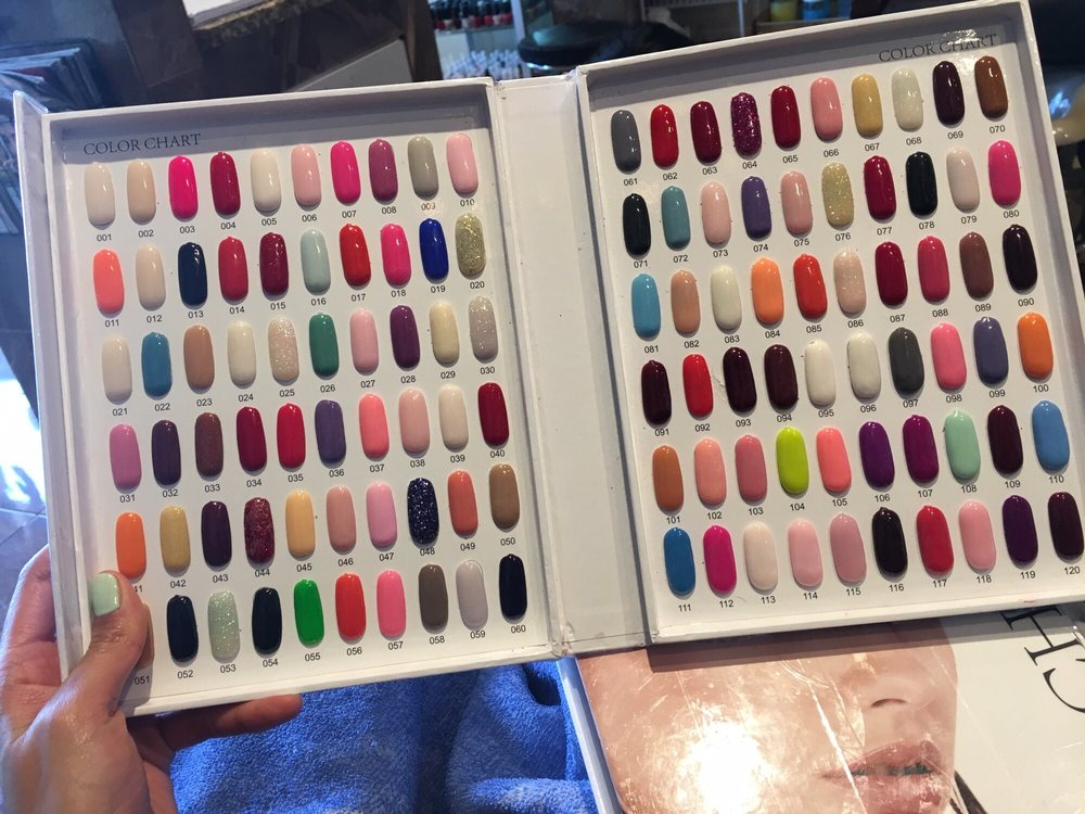 Dip color options! $35 - Yelp