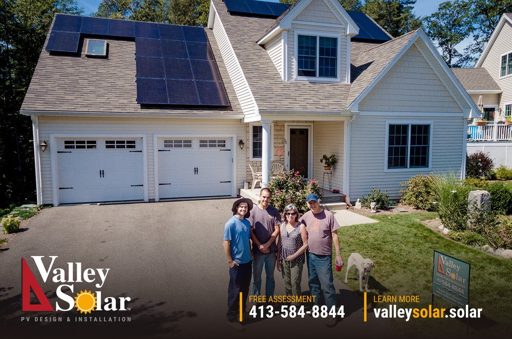 Valley Solar: 340 Riverside Dr, Northampton, MA