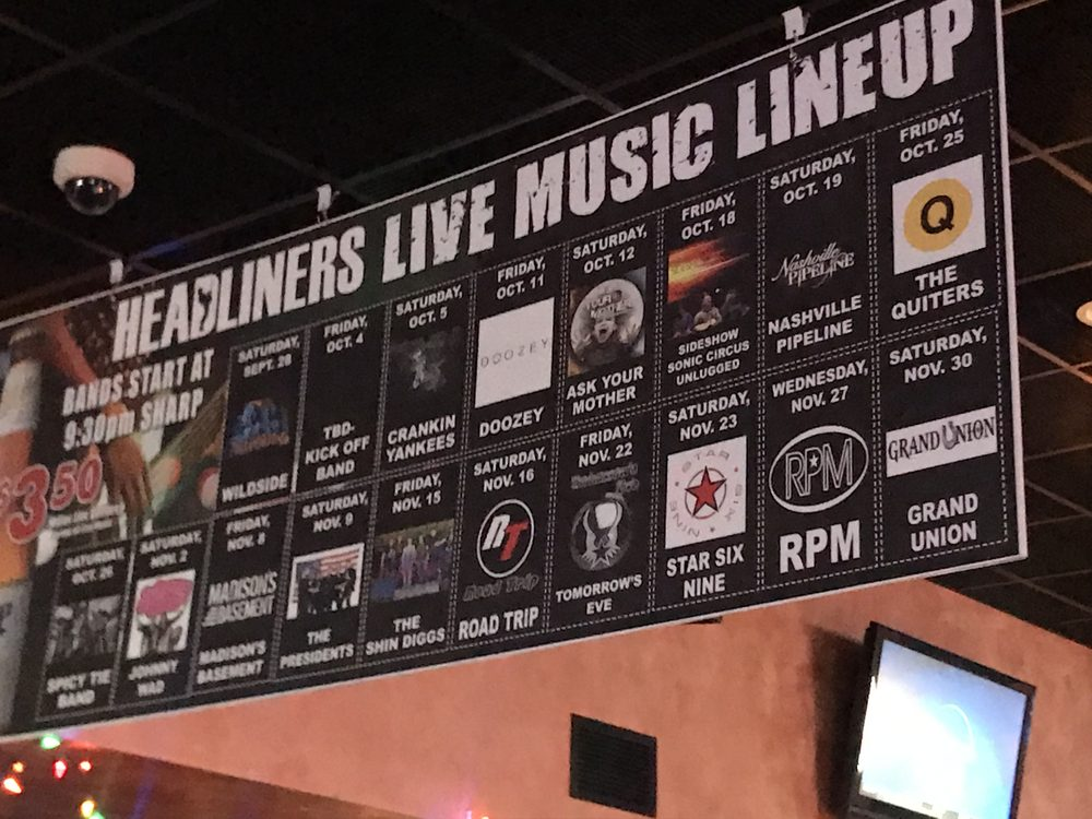 Headliners Bar & Grill: 2788 Towne Ct, Neenah, WI