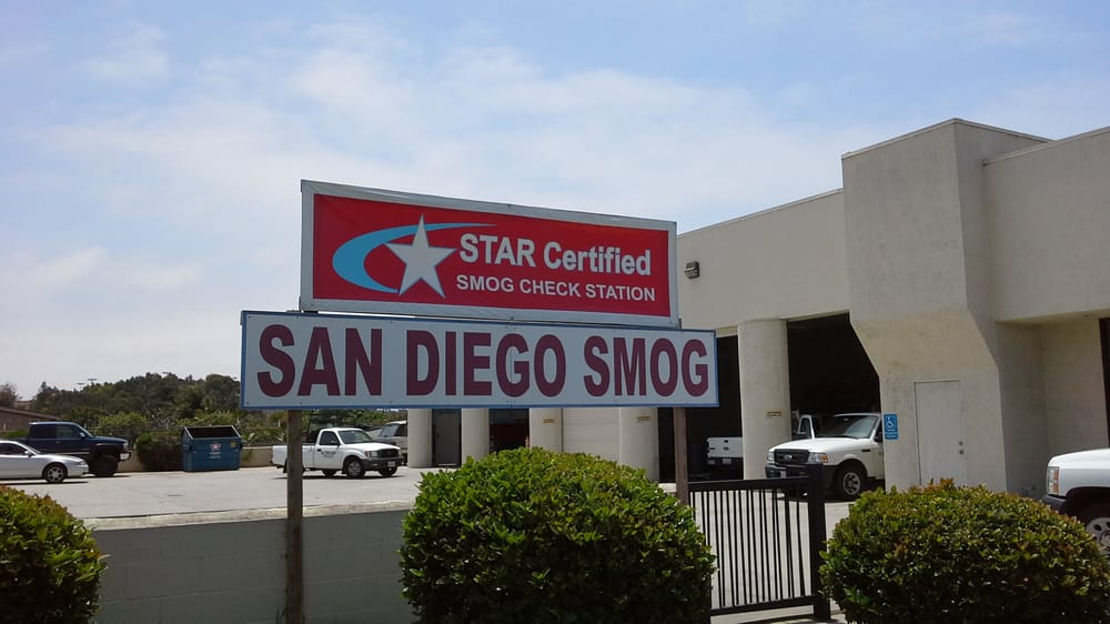 Smog Test Emissions Checks & Inspections in San Diego California