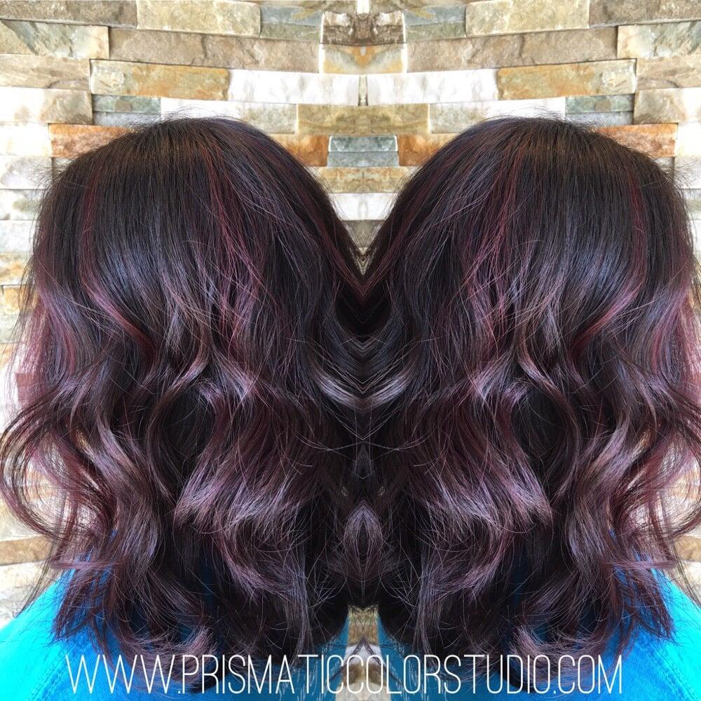 Merlot hair color - Photo Of Prismatic Color Studio Atlantic Beach Fl United States Merlot