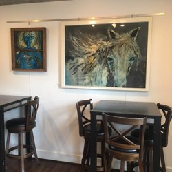 Photo Of The Bistro Williamston Mi United States Art Work Changed Monthly