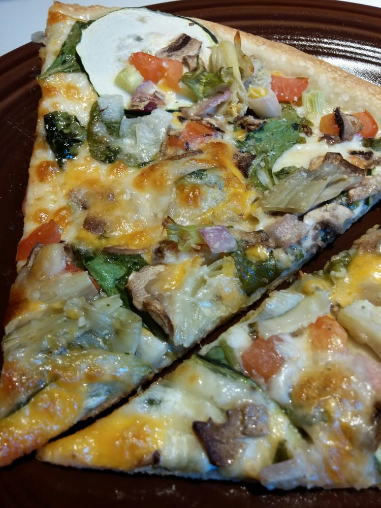 Final product Gourmet Vegetarian with thin crust - Yelp
