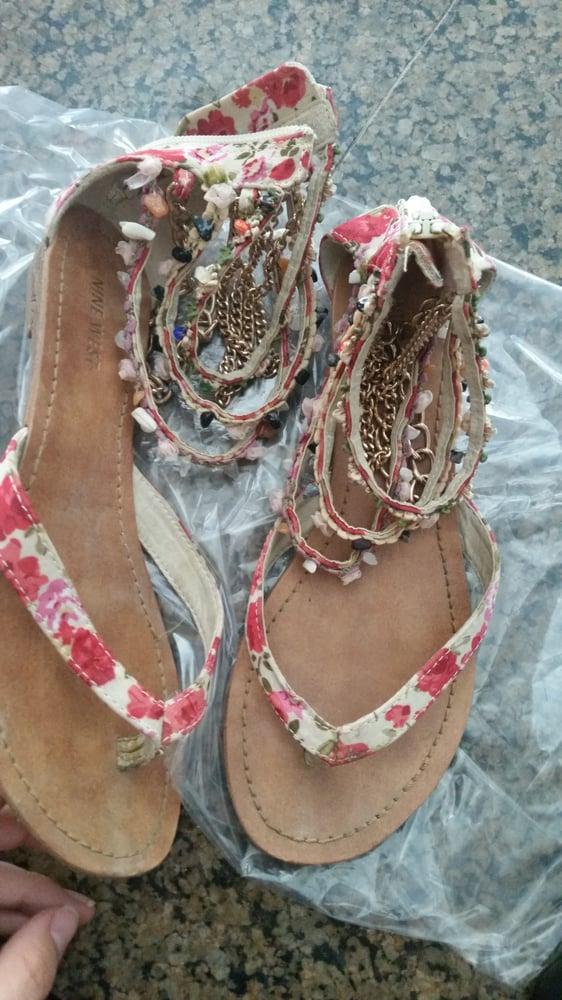 He Fixed The Cutest Sandals Ever The Chains Sooooo