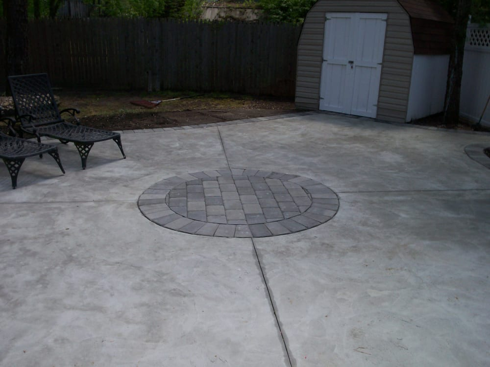 Photo Of All Around Grounds   Wall Township, NJ, United States. Concrete  Patio