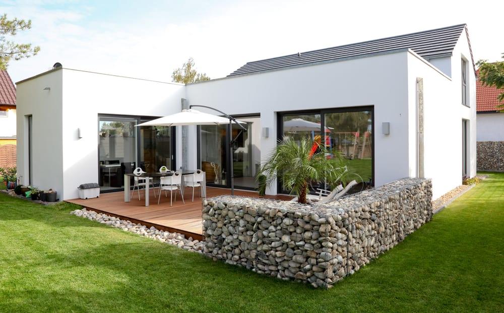 gabionen kaiser tarumgarten mit gabionen terrasseneinfassung yelp. Black Bedroom Furniture Sets. Home Design Ideas