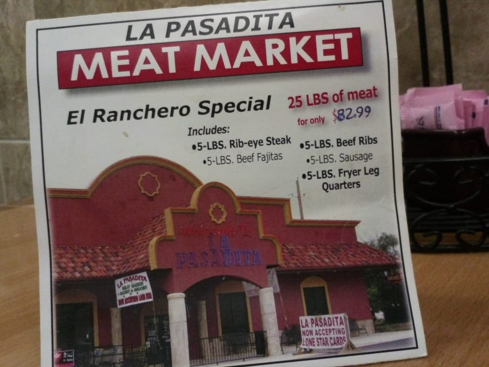 La Pasadita: 1963 State Hwy 132 N, Natalia, TX