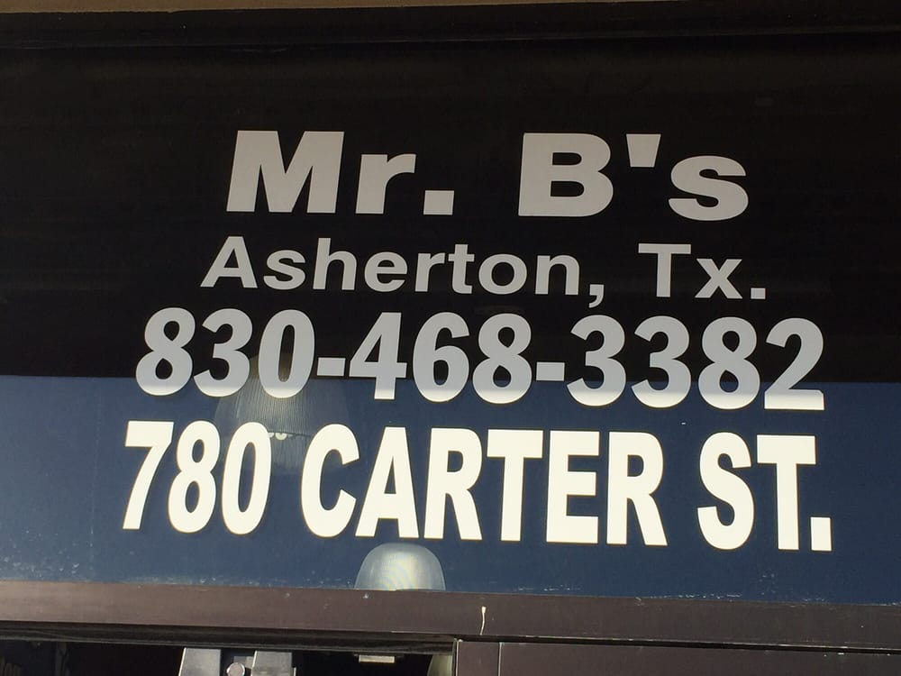 Photo of Mr. B's: Asherton, TX