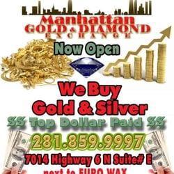 Photo Of Manhattan Gold Diamond Exchange Houston Tx United States Top