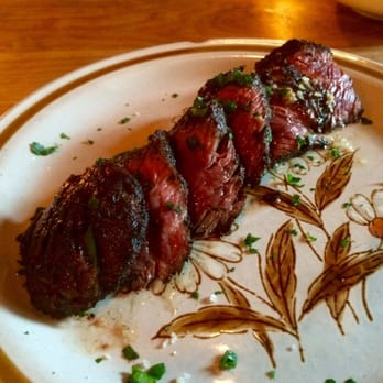 St. Anselm - Brooklyn, NY, United States. Butchers Steak- Hanger Steak ...