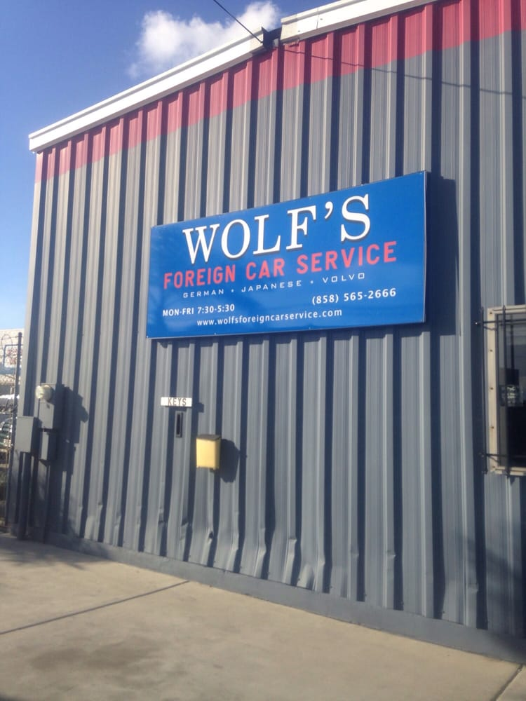 Wolf's Foreign Car Service