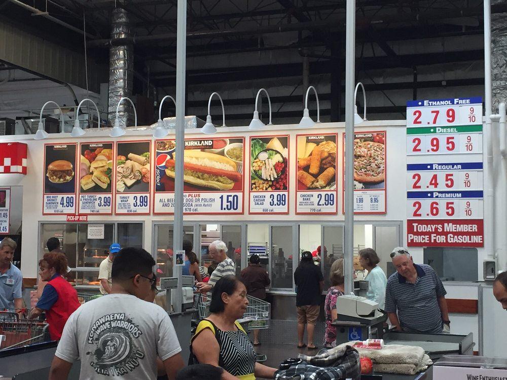 Costco Kailua Kona Food Court