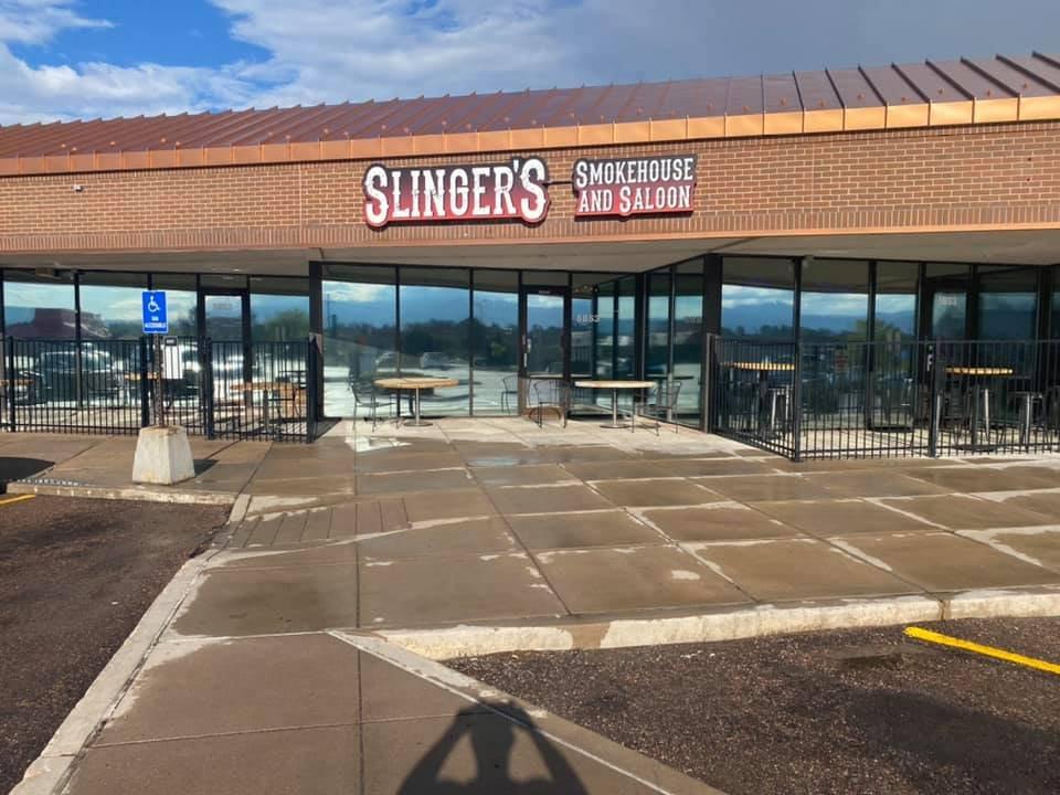Slingers Smokehouse and Saloon: 5853 Palmer Park Blvd, Colorado Springs, CO