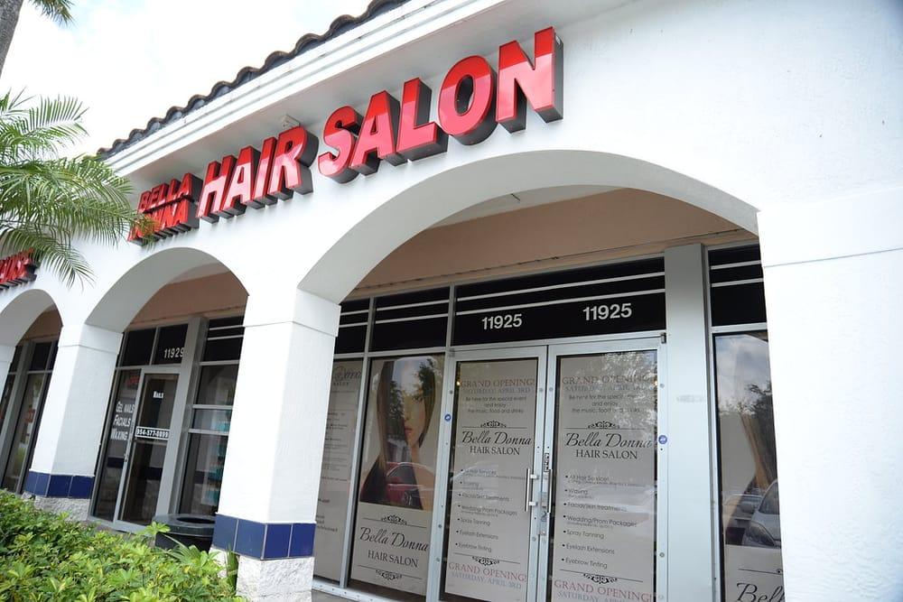 Bella Donna Hair Salon Outside Yelp