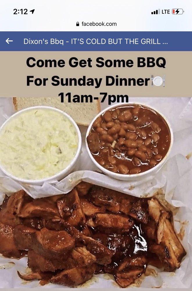 Dixon's BBQ: 2549 Woodson Rd, Overland, MO