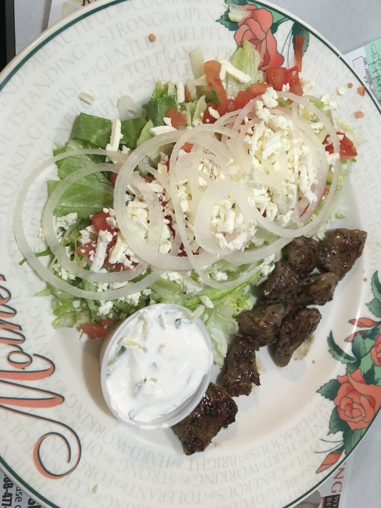 Food from Greek House Restaurant