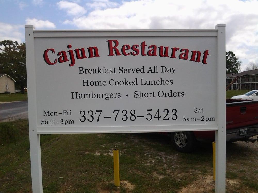 Cajun Restaurant: 1315 1st Ave, Kinder, LA