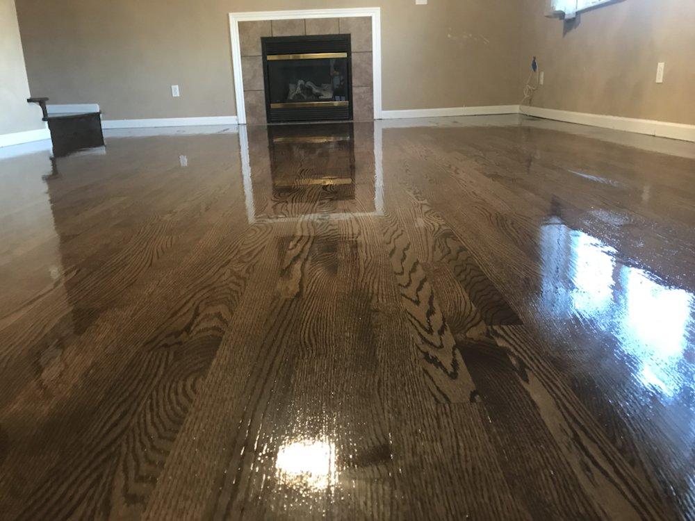 Photo Of Jds Flooring Saint Louis Mo United States Jacobean Stain