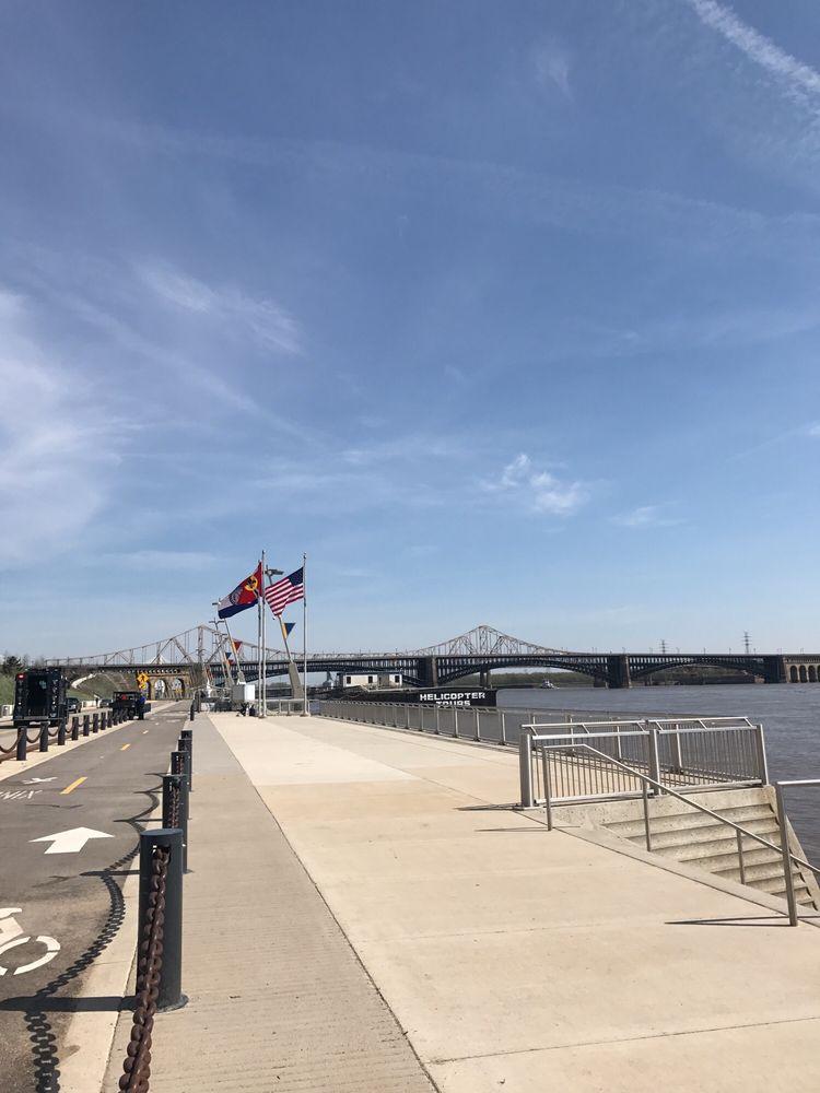 North Riverfront Trail: Biddle St & N Leonor K Sullivan Blvd, Saint Louis, MO