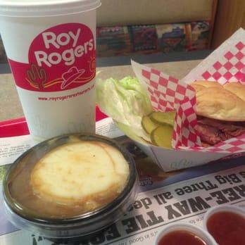 Roy Rogers Fast Food Restaurant Menu