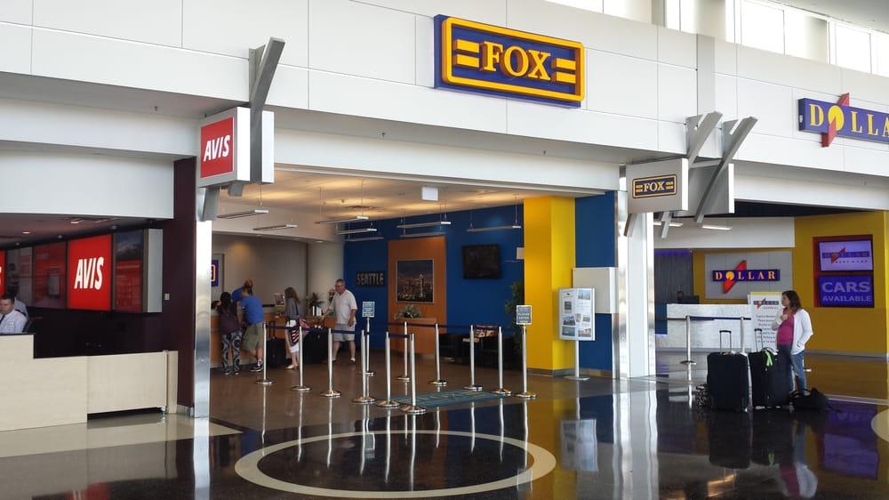 Fox rental car seattle washington airport 6