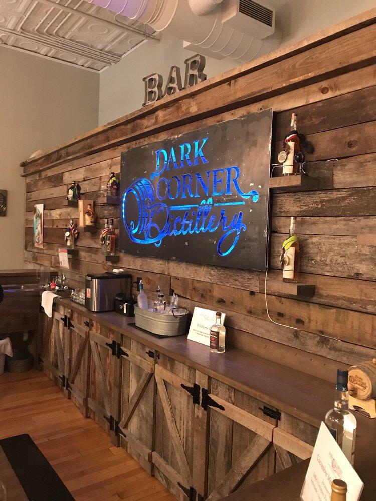 Dark Corner Distillery: 14 S Main St, Greenville, SC