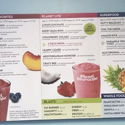 Work4 planet smoothie