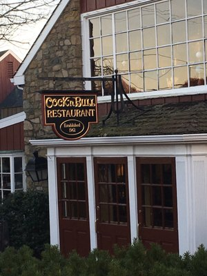Cock and bull resturant question opinion