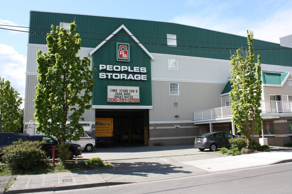 Peoples Storage - Seattle: 4213 Leary Way NW, Seattle, WA