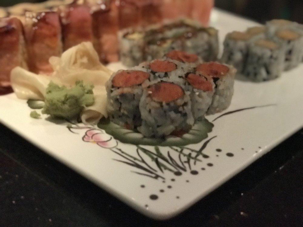 Food from Mizu Sushi Hibachi