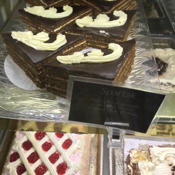 If you've never had Russian cakes before then this bakery is