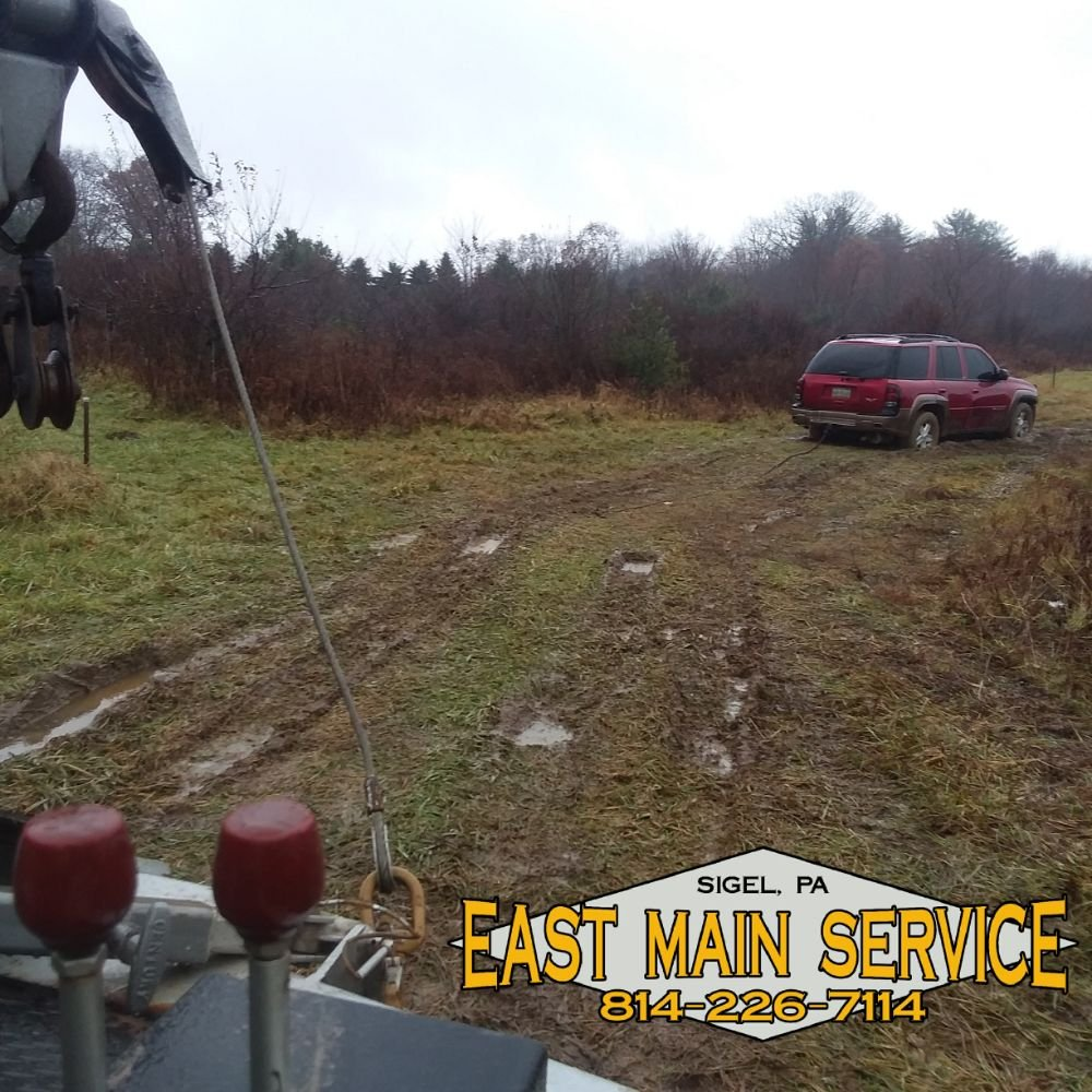 Towing business in St. Marys, PA