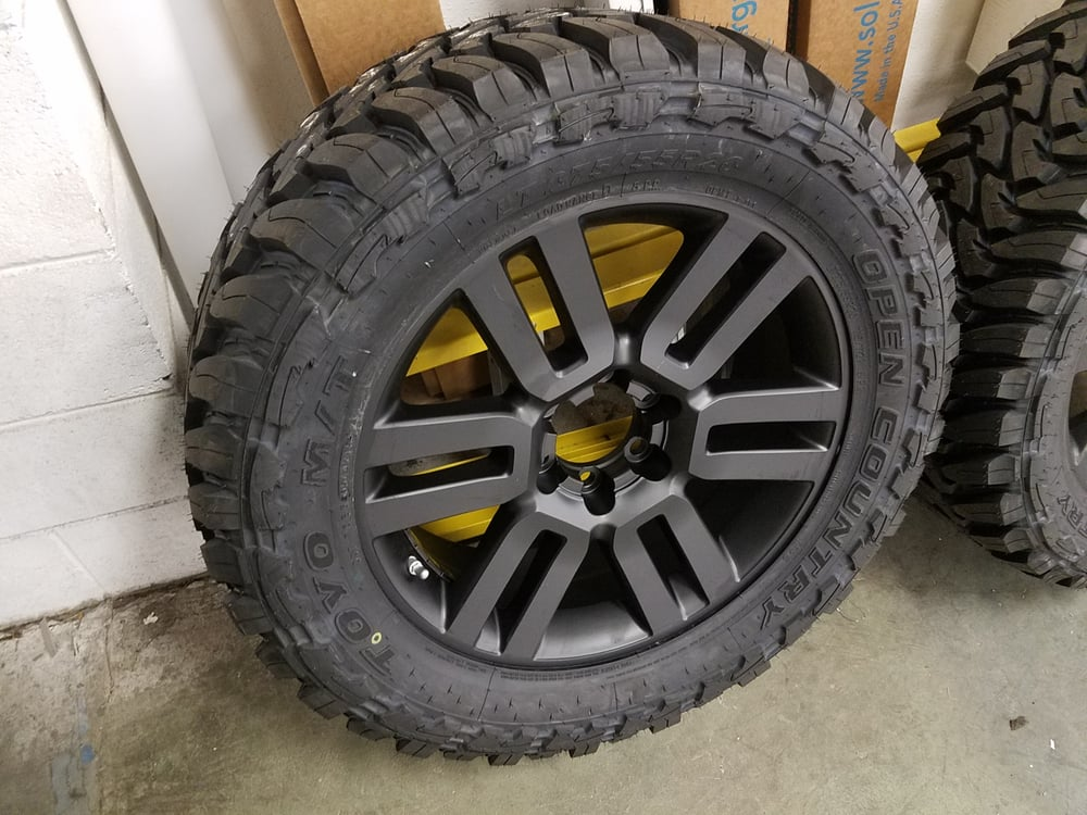 """Toyo OPMT 275/55R20 Open Country Mud Terrain. 20"""" Toyota ..."""