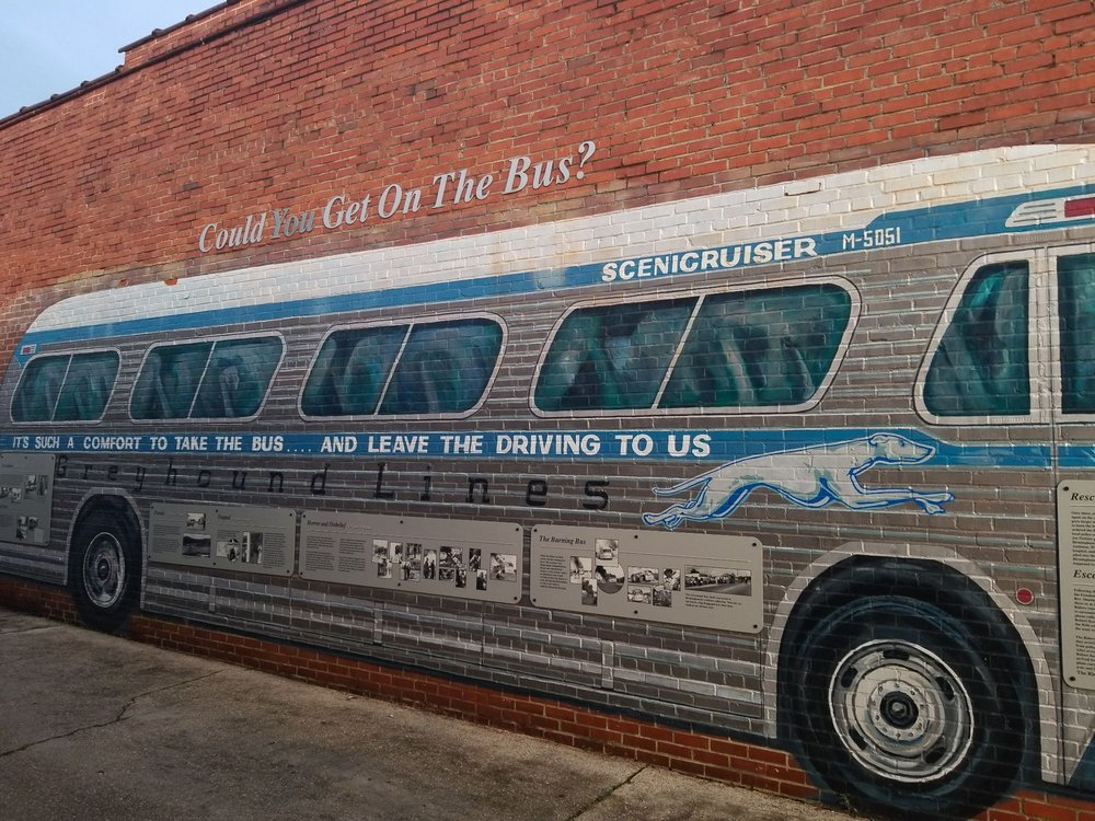 Freedom Riders National Monument: 1031 Gurnee Ave, Anniston, AL