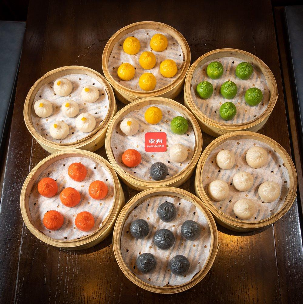 Food from Nan Xiang Xiao Long Bao