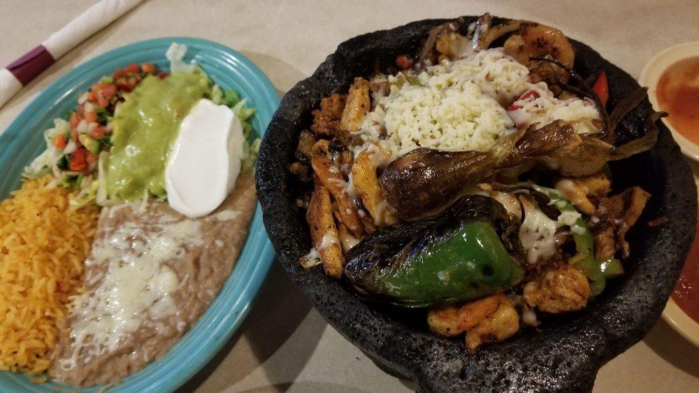 Food from El Zarape Mexican Restaurant