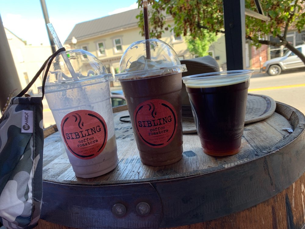 Sibling Coffee Roasters: 109 W Washington St, Charles Town, WV