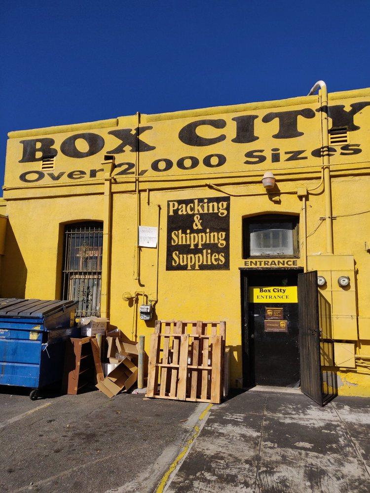 Box City: 1230 E Colorado Blvd, Pasadena, CA