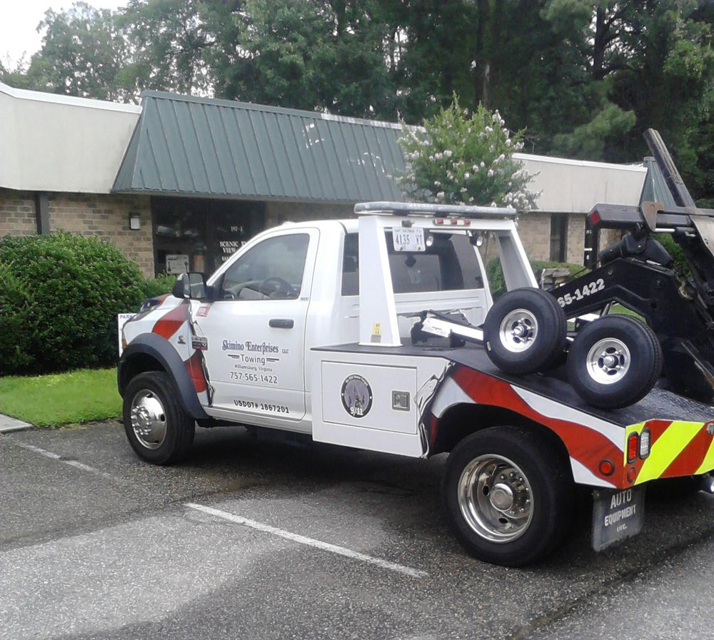 Towing business in Williamsburg, VA